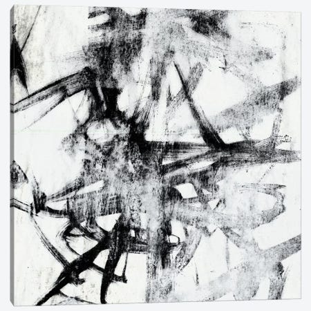 Monotype Scribble II Canvas Print #JGO10} by Jennifer Goldberger Canvas Art Print