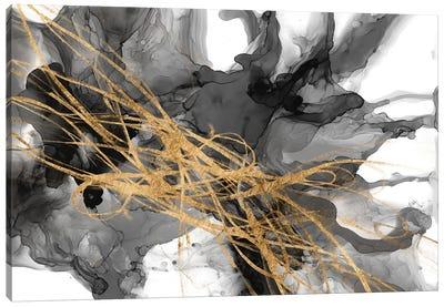 Golden Vortex II Canvas Art Print