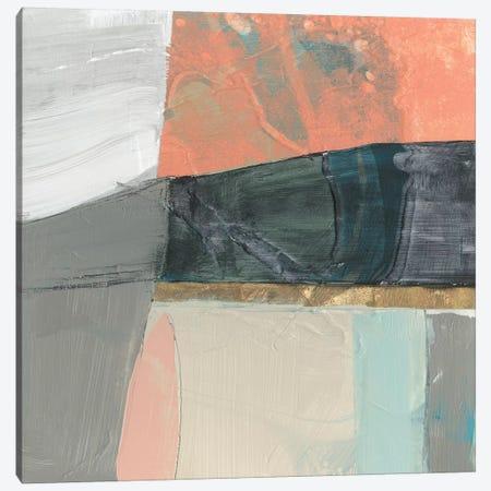 Hints of Coral II Canvas Print #JGO1123} by Jennifer Goldberger Canvas Artwork