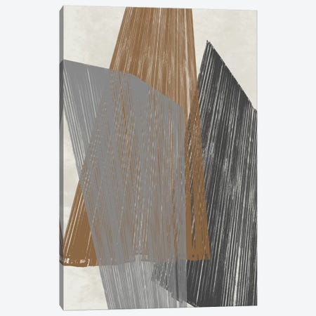 Triangle Stripes I Canvas Print #JGO112} by Jennifer Goldberger Art Print