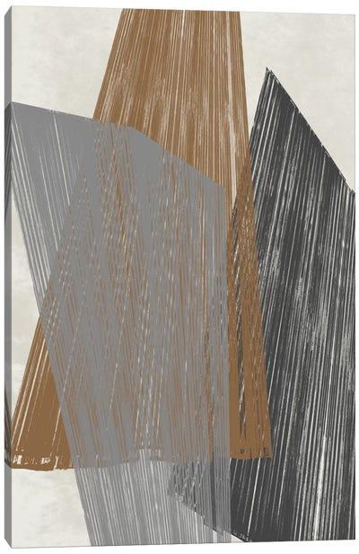 Triangle Stripes I Canvas Art Print