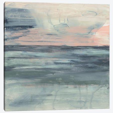 Pastel Coast II Canvas Print #JGO1133} by Jennifer Goldberger Canvas Print