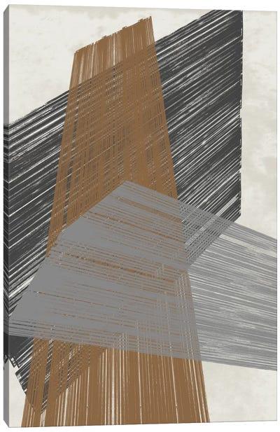 Triangle Stripes II Canvas Art Print