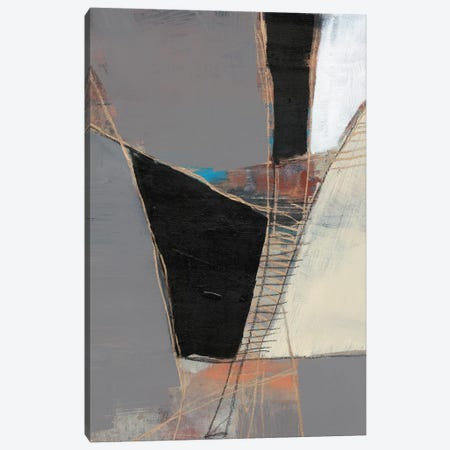 Segmented Neutrals II 3-Piece Canvas #JGO1141} by Jennifer Goldberger Canvas Wall Art