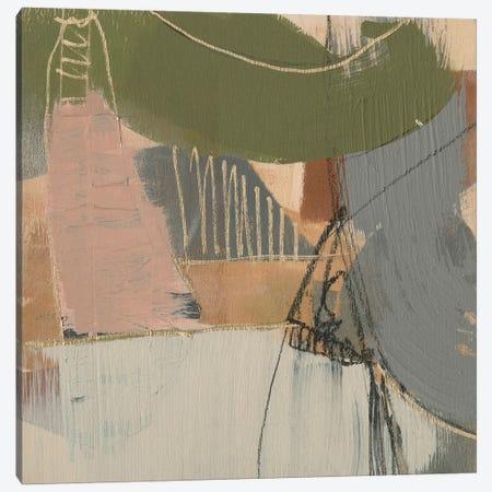 Swinging Lines I Canvas Print #JGO1146} by Jennifer Goldberger Canvas Print