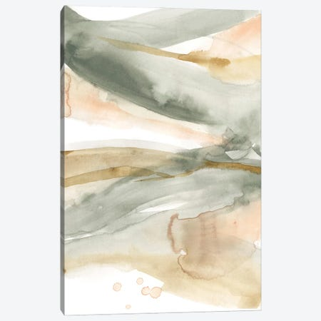 Concurrent Pastels II Canvas Print #JGO1161} by Jennifer Goldberger Canvas Art