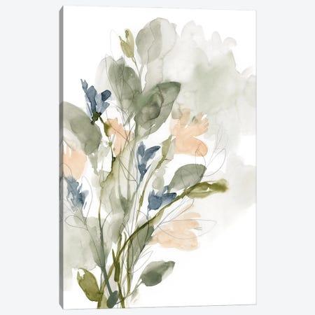 Flower Cluster I Canvas Print #JGO1173} by Jennifer Goldberger Canvas Art Print