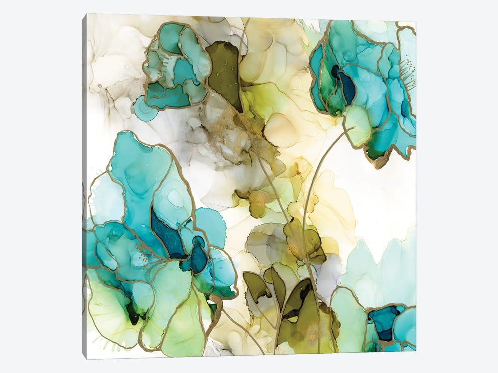 Flower Facets IV by Jennifer Goldberger 1-piece Canvas Print