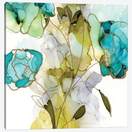 Flower Facets V Canvas Print #JGO1179} by Jennifer Goldberger Art Print