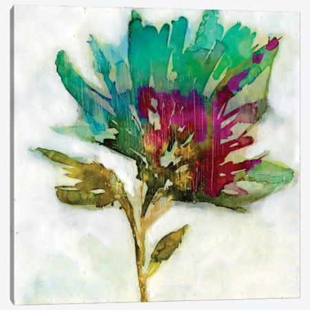 Fuchsia Splash I Canvas Print #JGO1185} by Jennifer Goldberger Canvas Art Print
