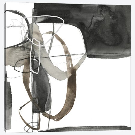 Interlocked II 3-Piece Canvas #JGO1188} by Jennifer Goldberger Canvas Artwork