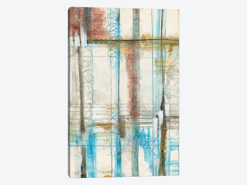 Primary Lineage IV by Jennifer Goldberger 1-piece Canvas Wall Art