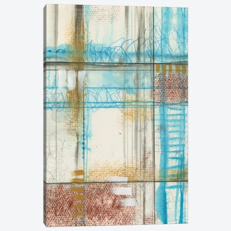 Primary Lineage V Canvas Print #JGO1203} by Jennifer Goldberger Canvas Print