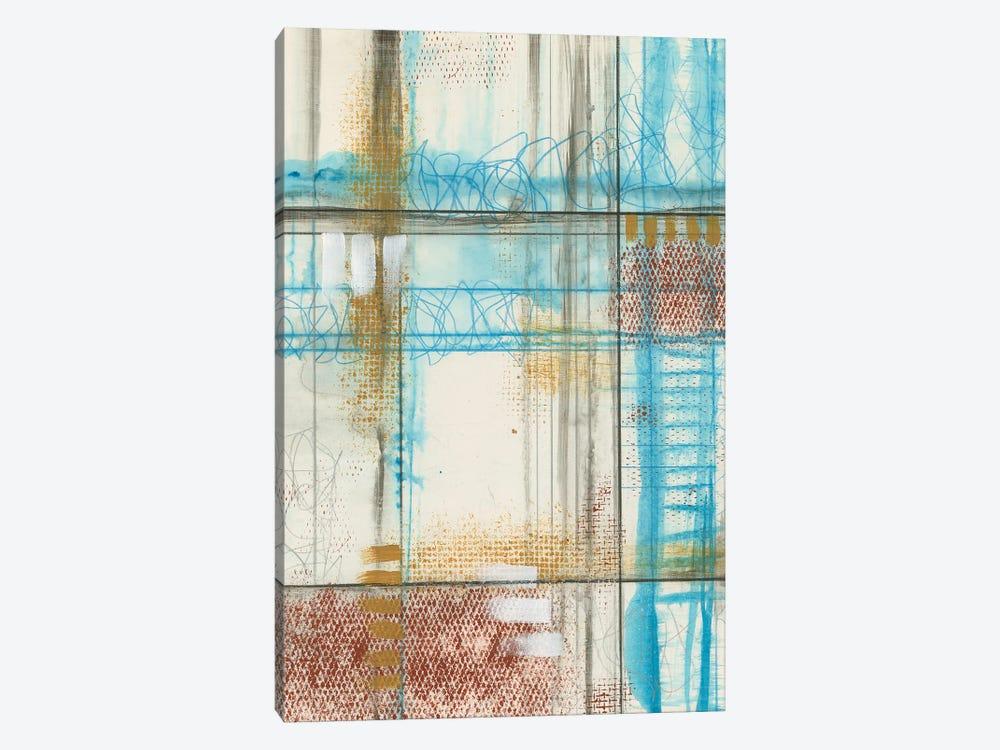 Primary Lineage V by Jennifer Goldberger 1-piece Canvas Art Print