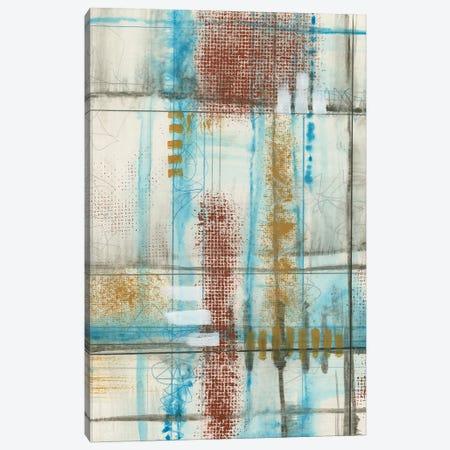 Primary Lineage VI Canvas Print #JGO1204} by Jennifer Goldberger Canvas Artwork