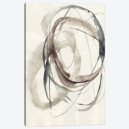 Spiral Hoops I Canvas Print #JGO1207} by Jennifer Goldberger Canvas Art