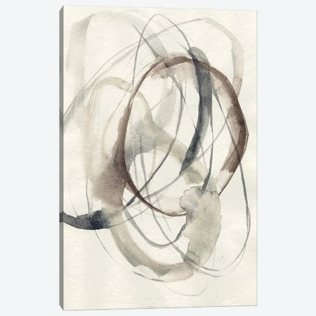 Spiral Hoops II 3-Piece Canvas #JGO1208} by Jennifer Goldberger Canvas Print