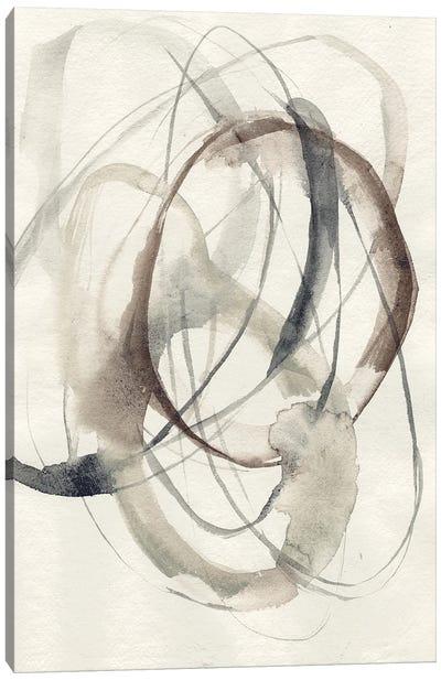 Spiral Hoops II Canvas Art Print