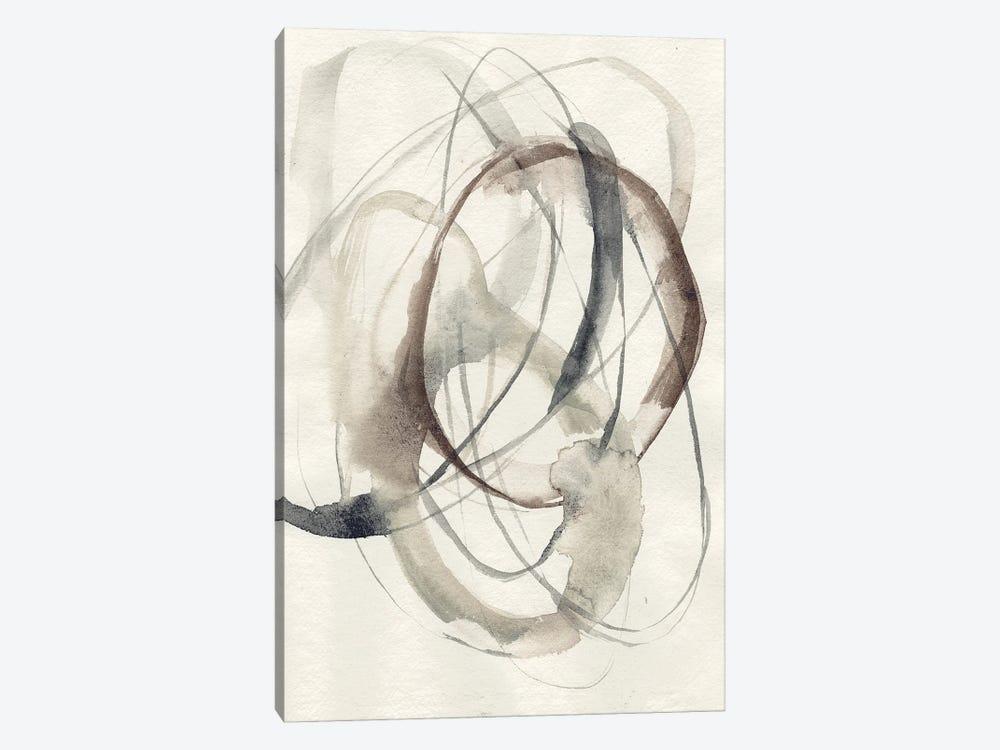 Spiral Hoops II by Jennifer Goldberger 1-piece Canvas Wall Art