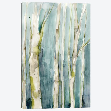 Treeline Watercolor II Canvas Print #JGO1214} by Jennifer Goldberger Canvas Print