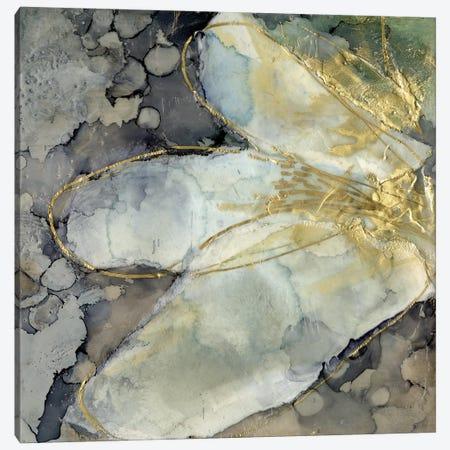 Abstracted Lily I Canvas Print #JGO1219} by Jennifer Goldberger Canvas Art
