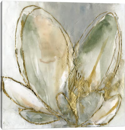 Blooming Gold I Canvas Art Print