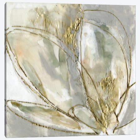 Blooming Gold II Canvas Print #JGO1222} by Jennifer Goldberger Canvas Art Print