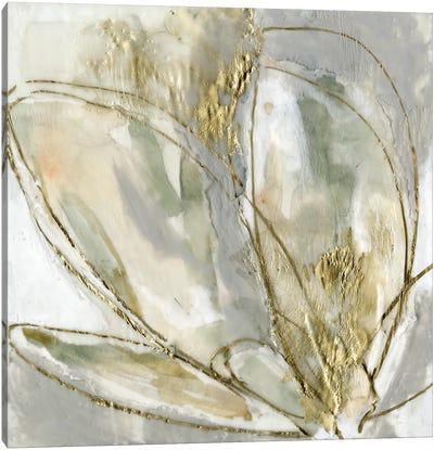 Blooming Gold II Canvas Art Print