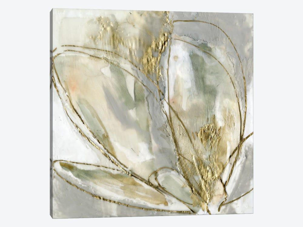 Blooming Gold II by Jennifer Goldberger 1-piece Canvas Wall Art