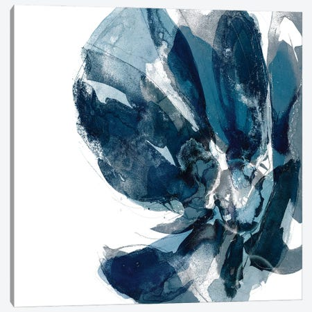 Blue Exclusion I Canvas Print #JGO1223} by Jennifer Goldberger Canvas Art Print