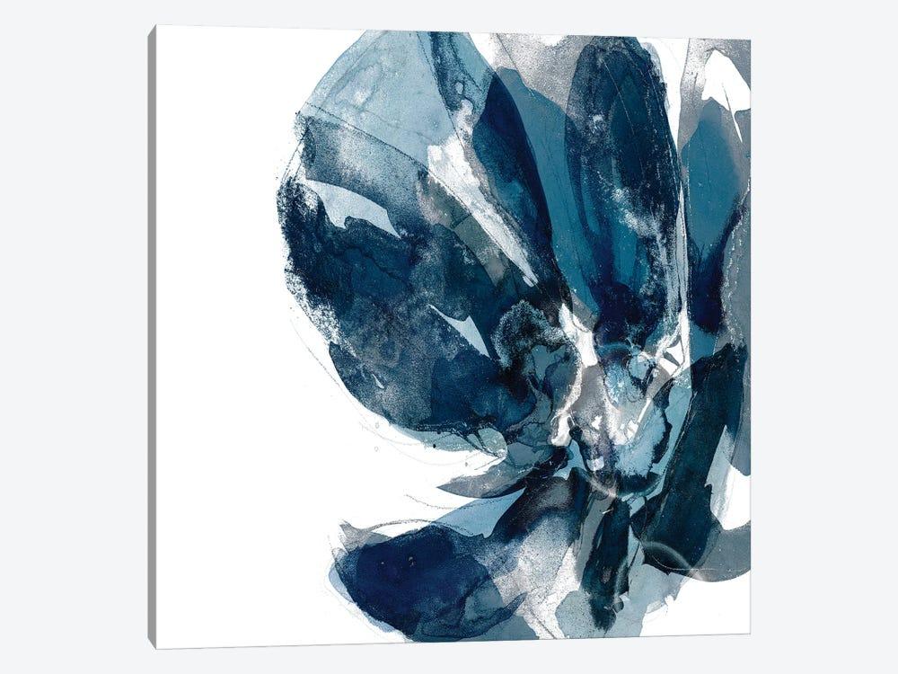 Blue Exclusion I by Jennifer Goldberger 1-piece Canvas Print