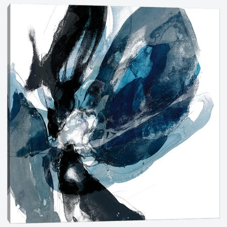 Blue Exclusion III Canvas Print #JGO1225} by Jennifer Goldberger Canvas Art