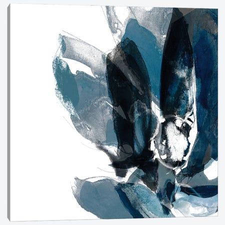 Blue Exclusion IV Canvas Print #JGO1226} by Jennifer Goldberger Canvas Art