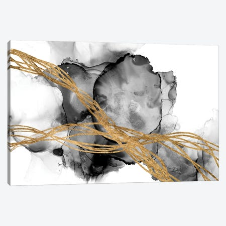 Matrix Undulation I Canvas Print #JGO1230} by Jennifer Goldberger Canvas Artwork