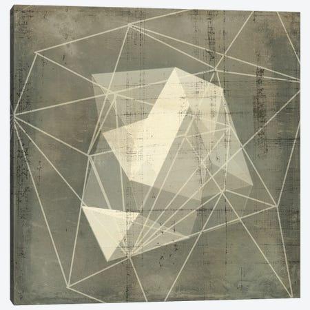 Geomolecule Blueprint I Canvas Print #JGO1237} by Jennifer Goldberger Art Print