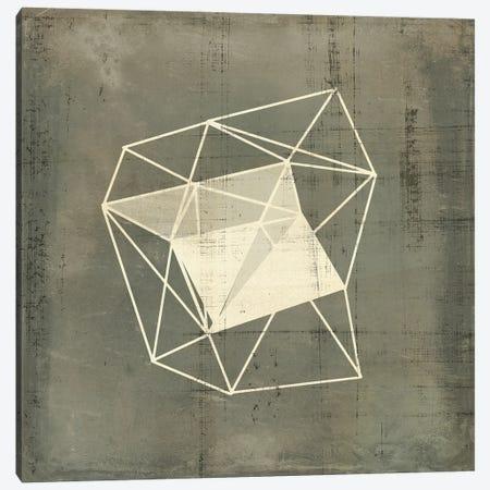Geomolecule Blueprint III Canvas Print #JGO1239} by Jennifer Goldberger Canvas Artwork