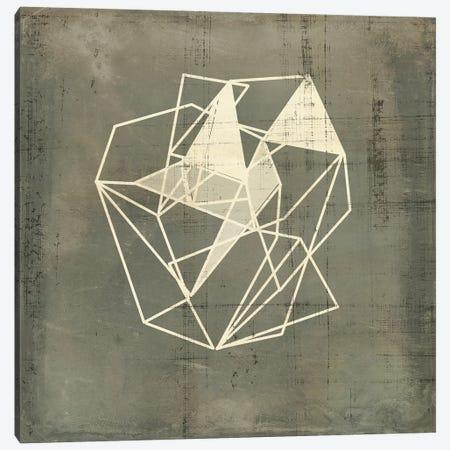 Geomolecule Blueprint IV Canvas Print #JGO1240} by Jennifer Goldberger Canvas Print