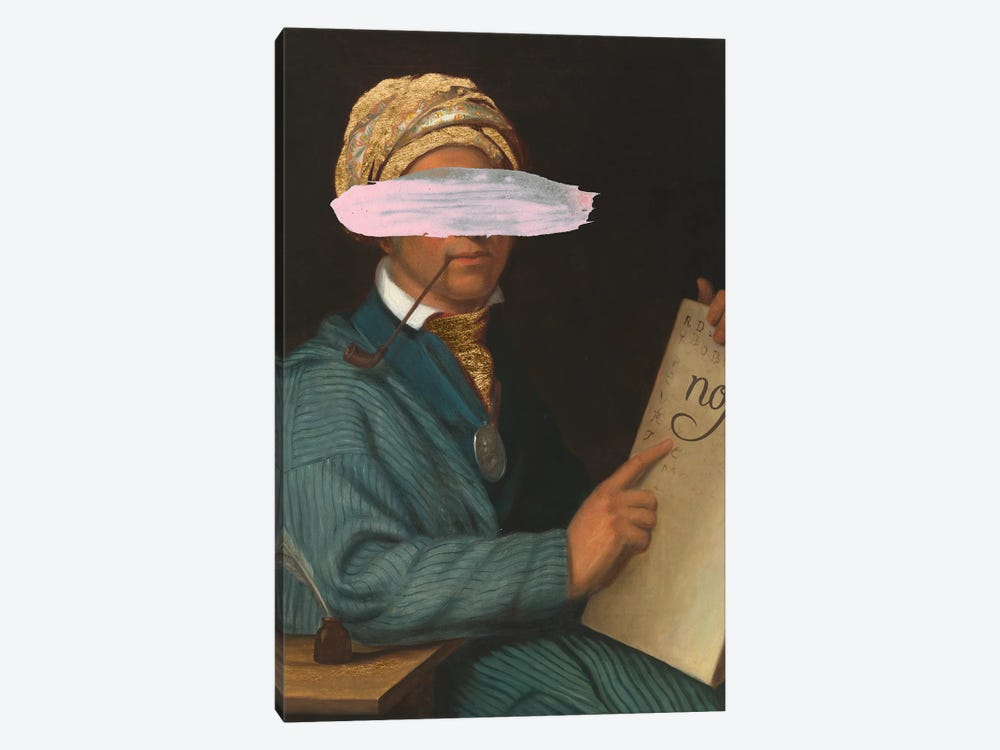 Masked Sequoyah by Jennifer Goldberger 1-piece Canvas Art