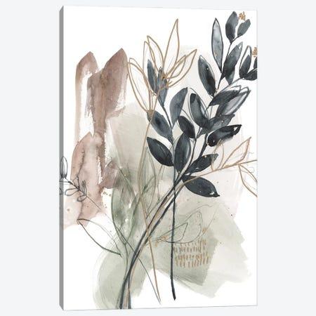 Bundled Leaves I Canvas Print #JGO1243} by Jennifer Goldberger Canvas Art Print