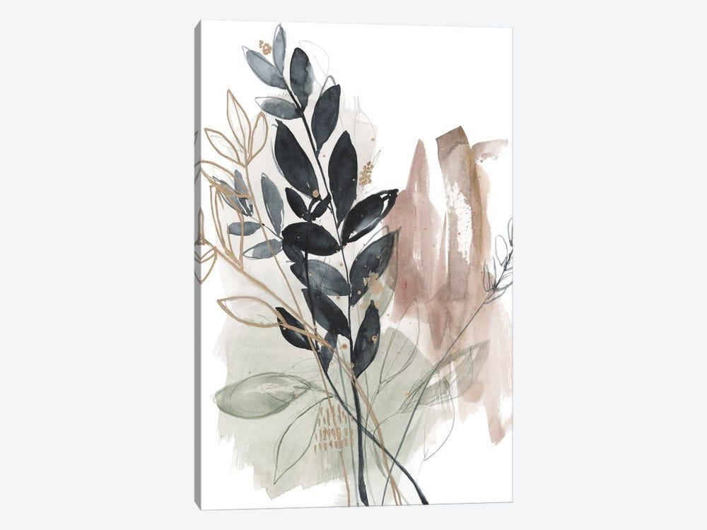 Bundled Leaves II by Jennifer Goldberger 1-piece Canvas Wall Art