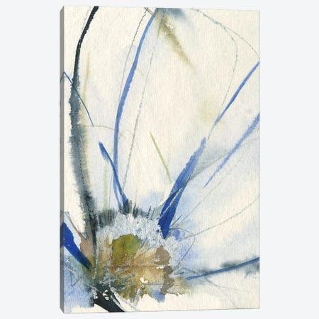 Cobalt & Paynes Petals II Canvas Print #JGO1248} by Jennifer Goldberger Canvas Print