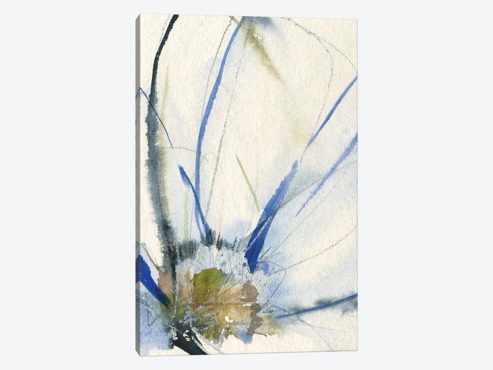 Cobalt & Paynes Petals II by Jennifer Goldberger 1-piece Canvas Art