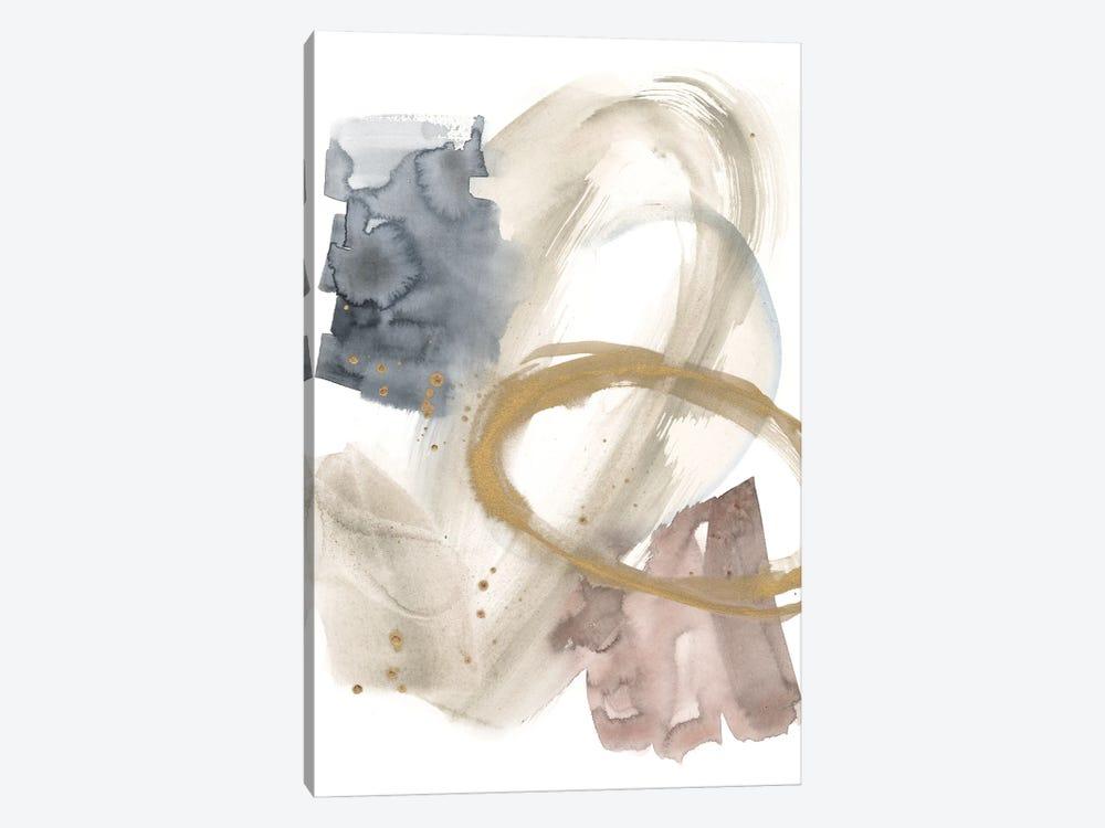 Golden Ring II by Jennifer Goldberger 1-piece Canvas Print