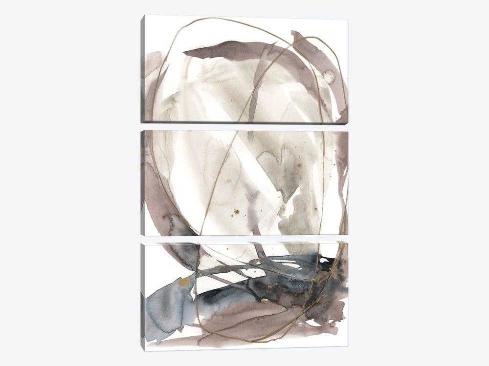 Inky Vortex II by Jennifer Goldberger 3-piece Canvas Art Print