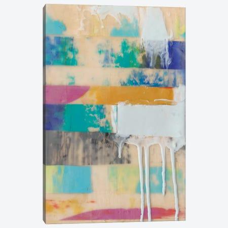 Vibrant Layers II Canvas Print #JGO127} by Jennifer Goldberger Canvas Print