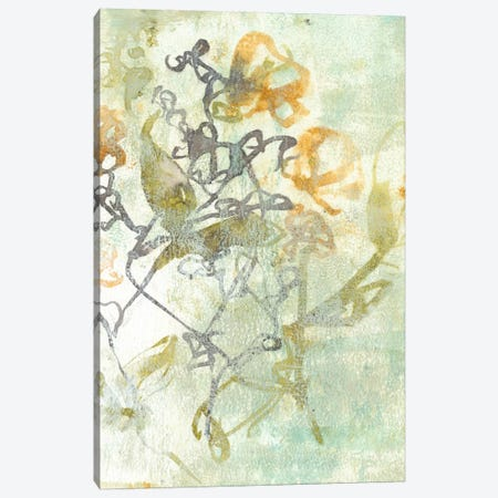 Washed Floral I Canvas Print #JGO128} by Jennifer Goldberger Canvas Art
