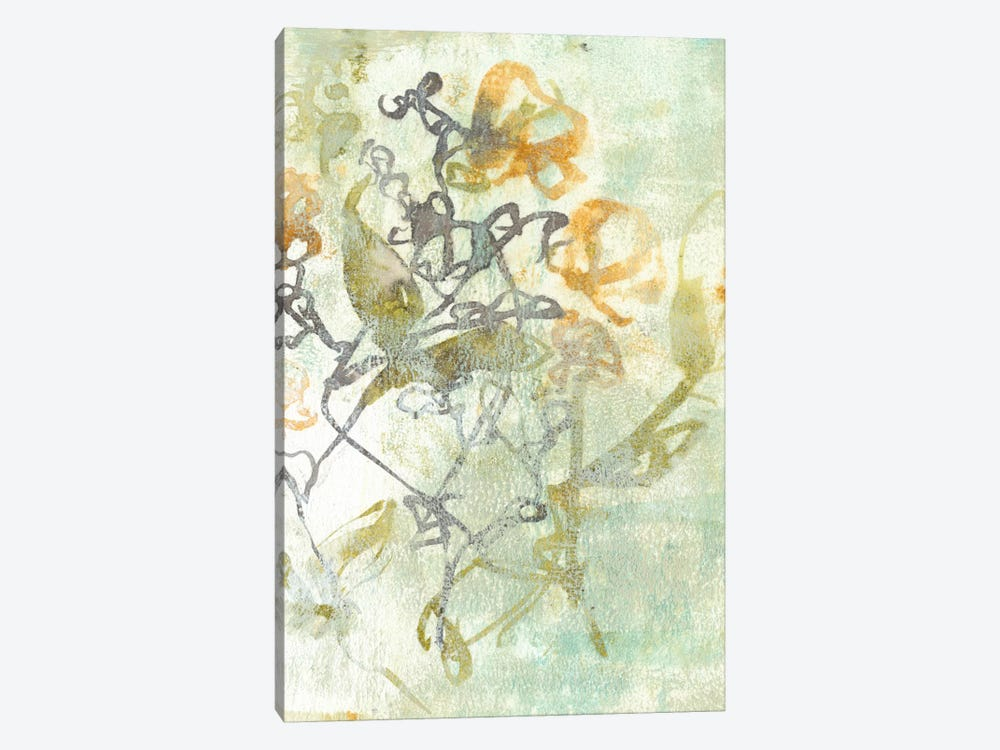 Washed Floral I by Jennifer Goldberger 1-piece Canvas Print