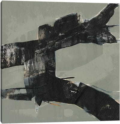 Ode an Kline VI Canvas Art Print