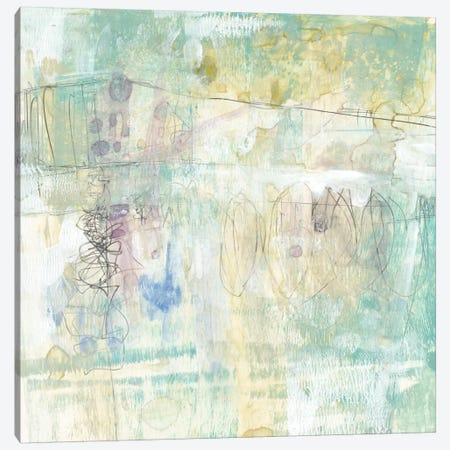 Washed Pastel I Canvas Print #JGO130} by Jennifer Goldberger Canvas Art Print