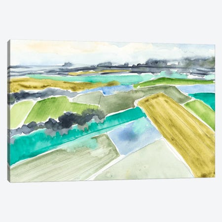 Watercolor Field I Canvas Print #JGO132} by Jennifer Goldberger Canvas Print